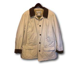LL Bean traditional barn coat. womans Like new.